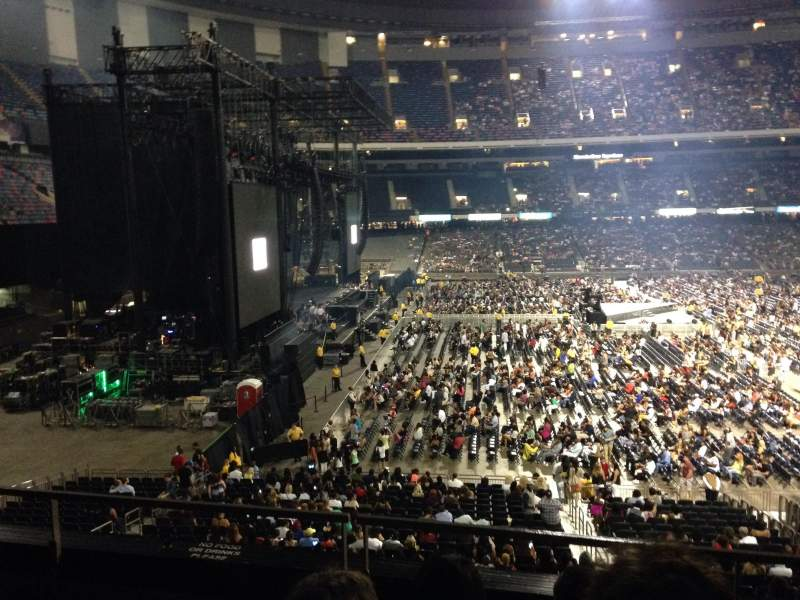 Seating view for Mercedes-Benz Superdome