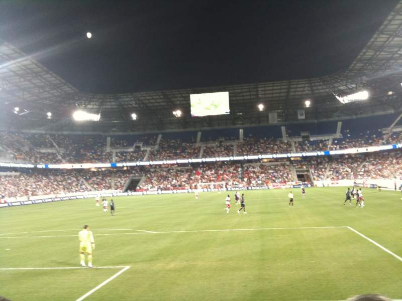 Seating view for Red Bull Arena Section 117 Row 5 Seat 17