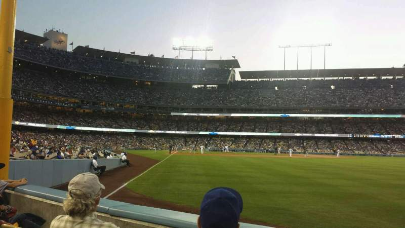 Seating view for Dodger Stadium Section 52FD Row B Seat 6