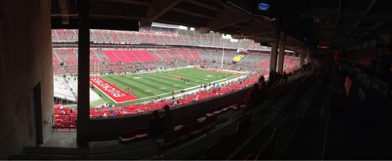 Seating view for Ohio Stadium Section 28B Row 8 Seat 27
