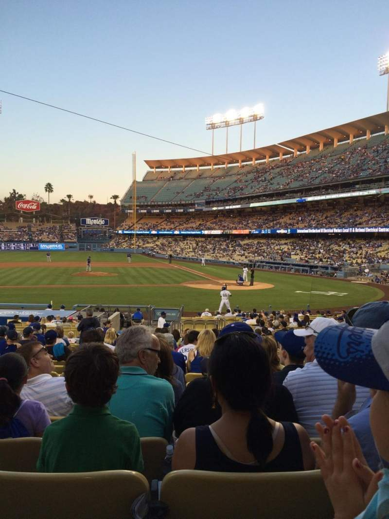 Seating view for Dodger Stadium Section 15FD Row S Seat 3