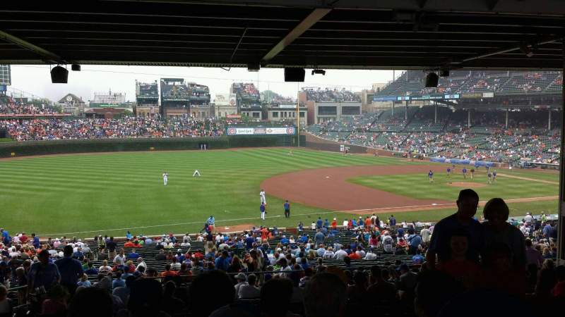 Seating view for Wrigley Field Section 208 Row 18 Seat 6-7
