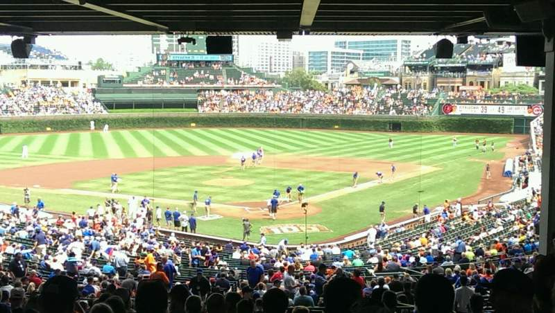 Seating view for Wrigley Field Section 220 Row 20 Seat 109