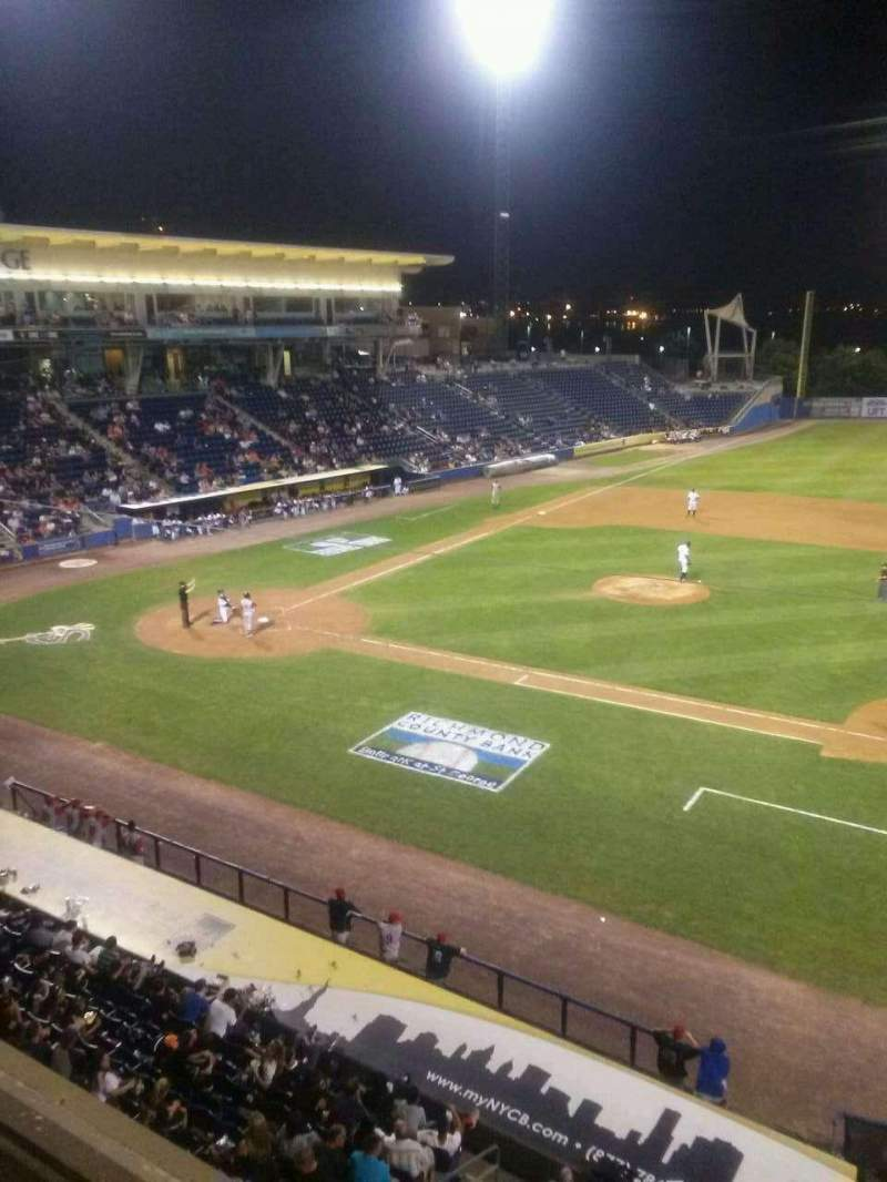Seating view for Richmond County Bank Ballpark Section Skline Row 1 Seat 28