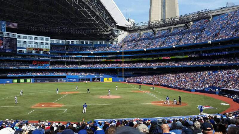 Seating view for Rogers Centre Section 226r Row 32 Seat 6