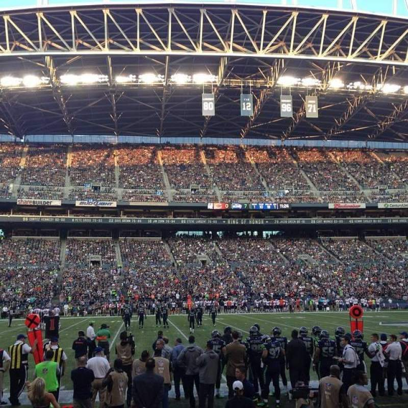 CenturyLink Field, section: CHR 137, row: B, seat: 15