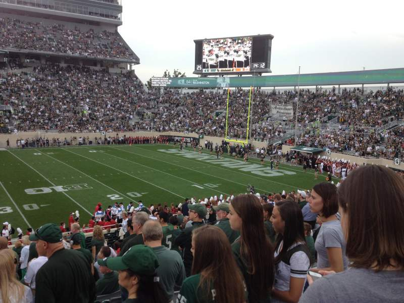 Seating view for Spartan Stadium Section 8 Row 29 Seat 8