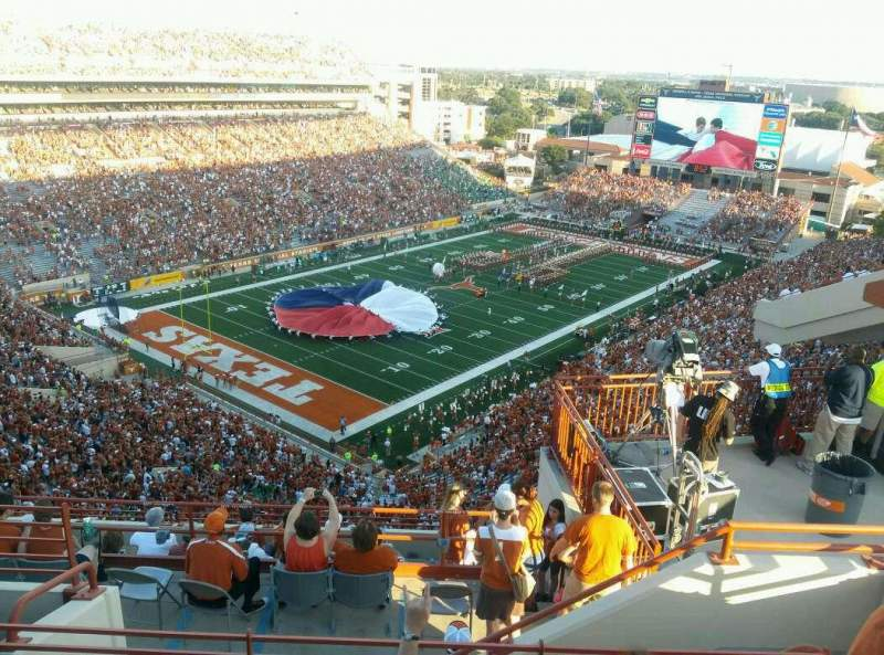 Seating view for Texas Memorial Stadium Section 111 Row 12 Seat 8