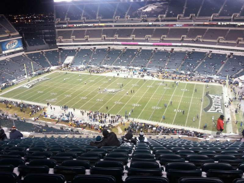 Seating view for Lincoln Financial Field Section 204 Row 18 Seat 9