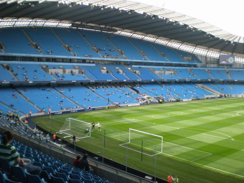 Seating view for City of Manchester Stadium