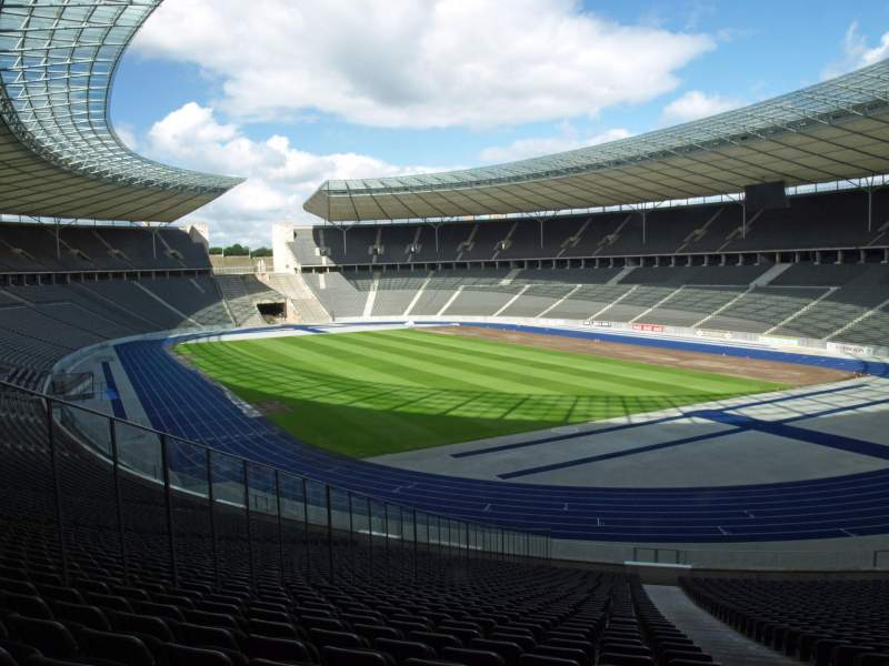 Seating view for Olympiastadion