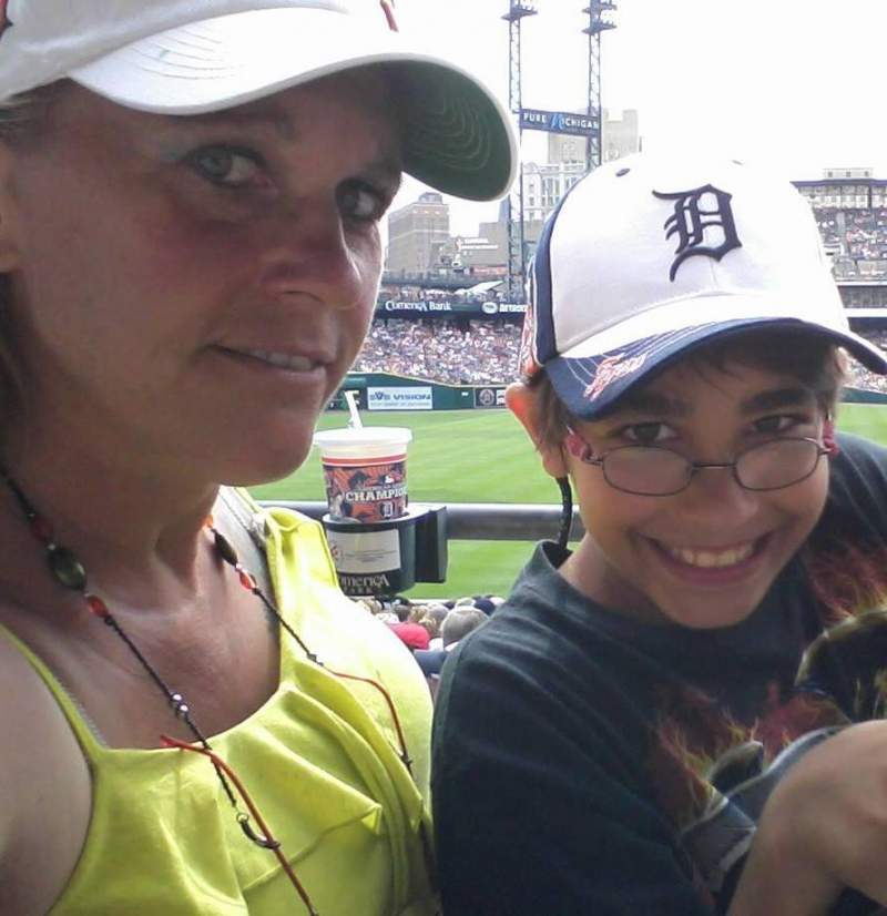 Seating view for Comerica Park Section 142 Row 33ac Seat 9,10