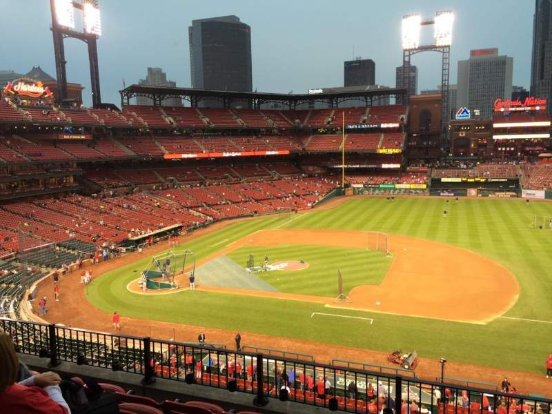 Seating view for Busch Stadium Section 242 Row 5 Seat 13