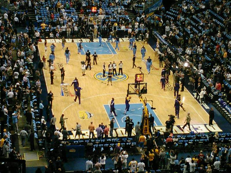 Seating view for Pepsi Center