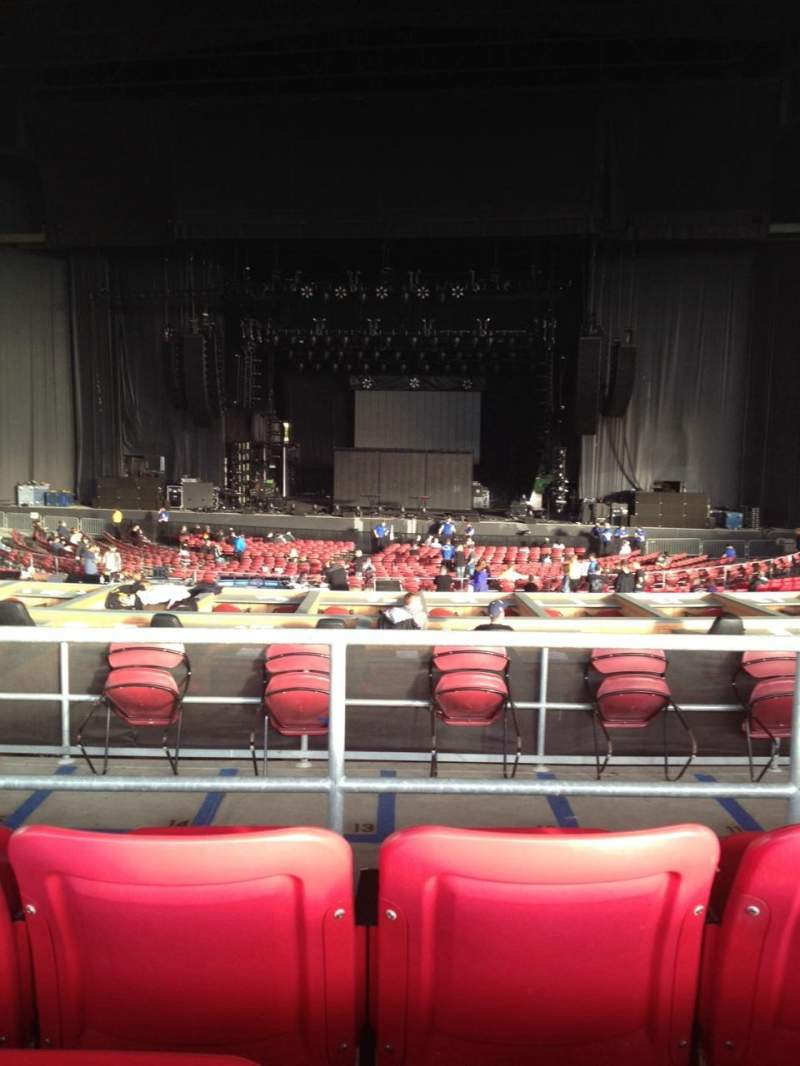 Seating view for White River Amphitheatre Section 205 Row 3 Seat 9