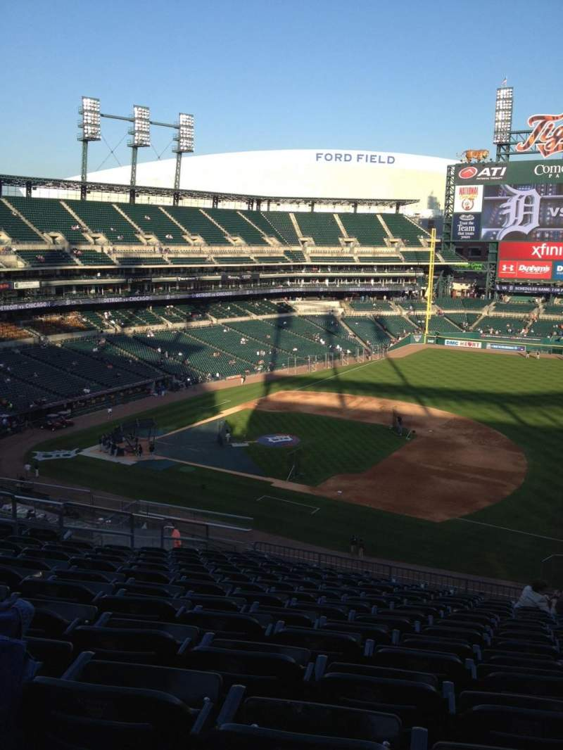 Seating view for Comerica Park Section 218 Row 15 Seat 12