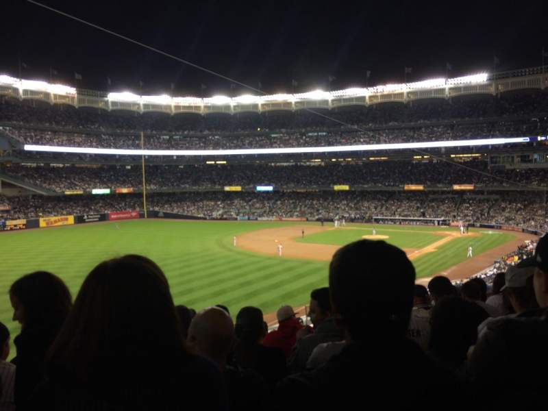 Seating view for Yankee Stadium Section 231 Row 10 Seat 10