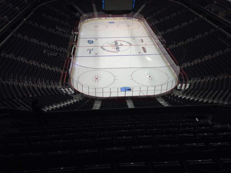 Seating view for Verizon Center Section 408 Row M Seat 11