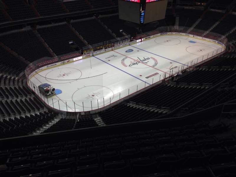 Seating view for Verizon Center Section 413 Row J Seat 9