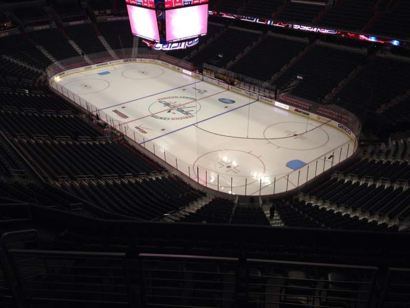 Seating view for Verizon Center Section 422 Row J Seat 10