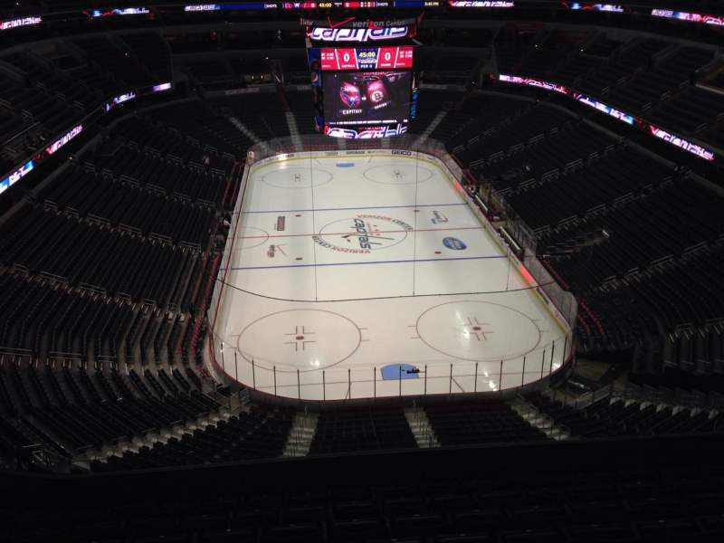 Seating view for Verizon Center Section 425 Row J Seat 10