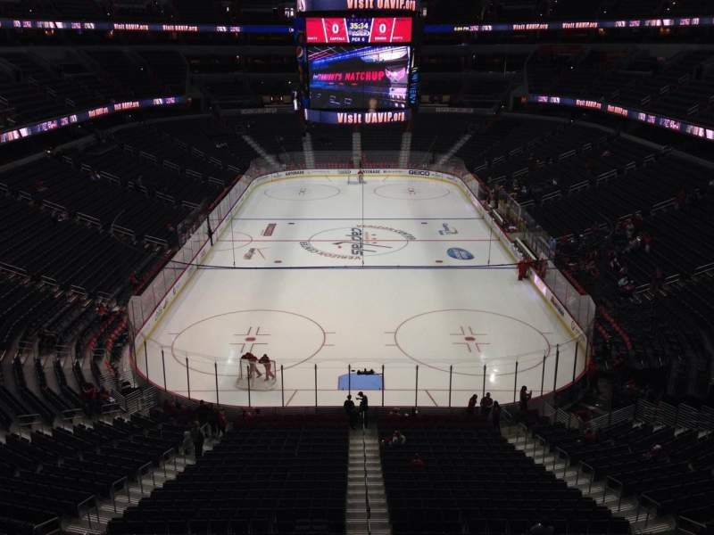 Seating view for Capital One Arena Section Player's Club