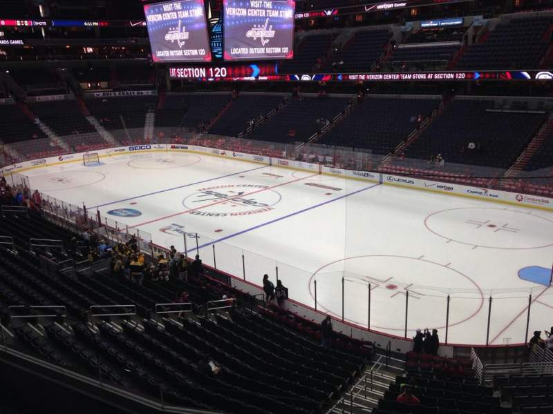 Seating view for Verizon Center Section 204 Row D Seat 6