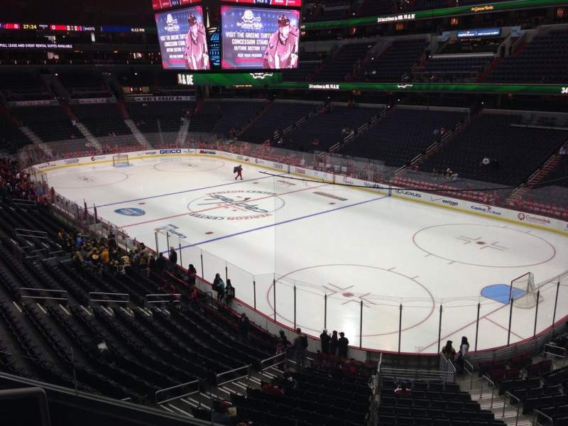 Seating view for Verizon Center Section 205 Row D Seat 3