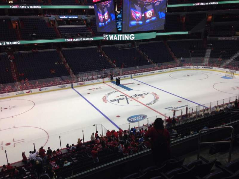 Seating view for Verizon Center Section 228 Row F Seat 8