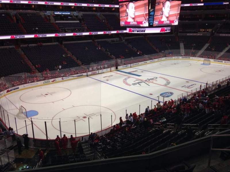 Seating view for Verizon Center Section 226 Row F Seat 7