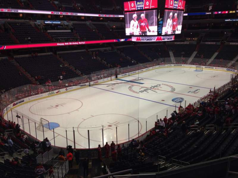 Seating view for Capital One Arena Section 225 Row F Seat 7