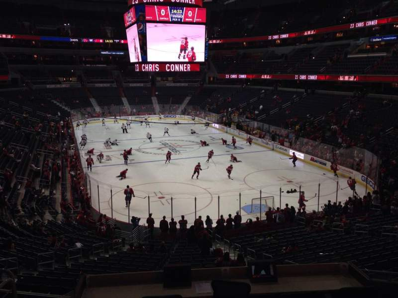 Seating view for Verizon Center Section 115 Row Y Seat 17