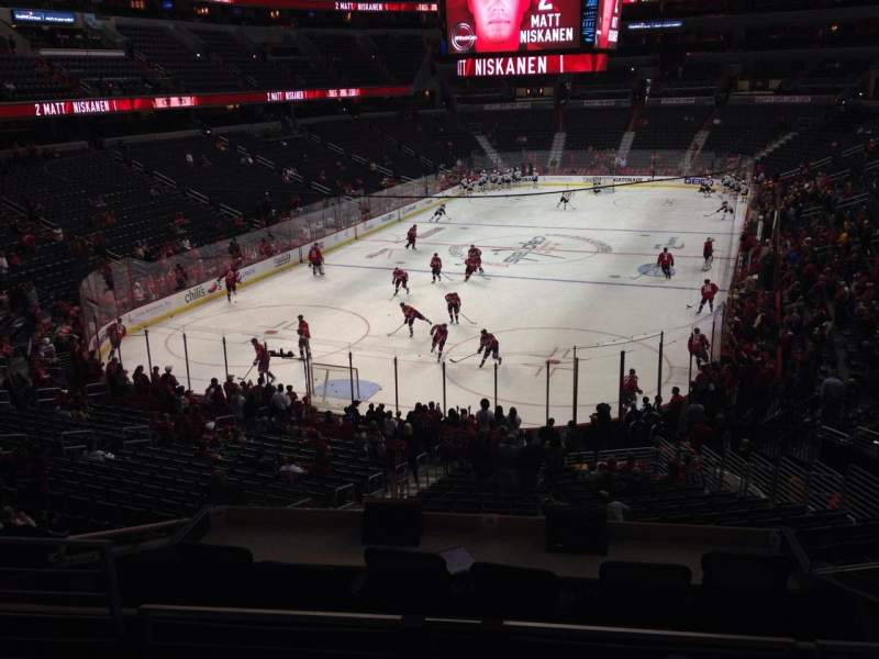 Seating view for Verizon Center Section 118 Row Y Seat 4