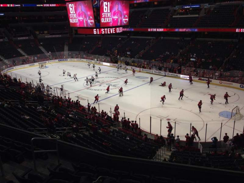Seating view for Verizon Center Section 219 Row G Seat 6