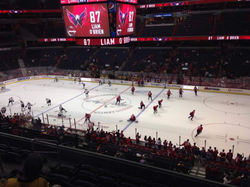 Seating view for Verizon Center Section 217 Row G Seat 7