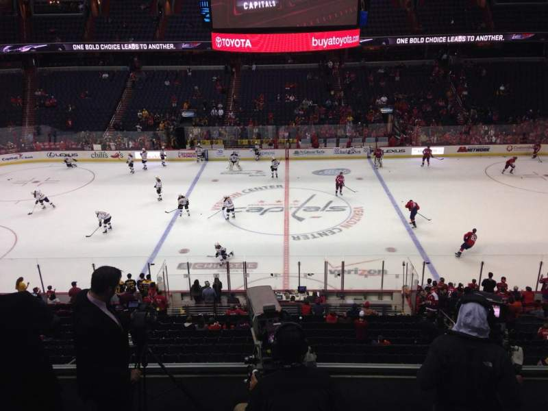 Seating view for Verizon Center Section 215 Row E Seat 9