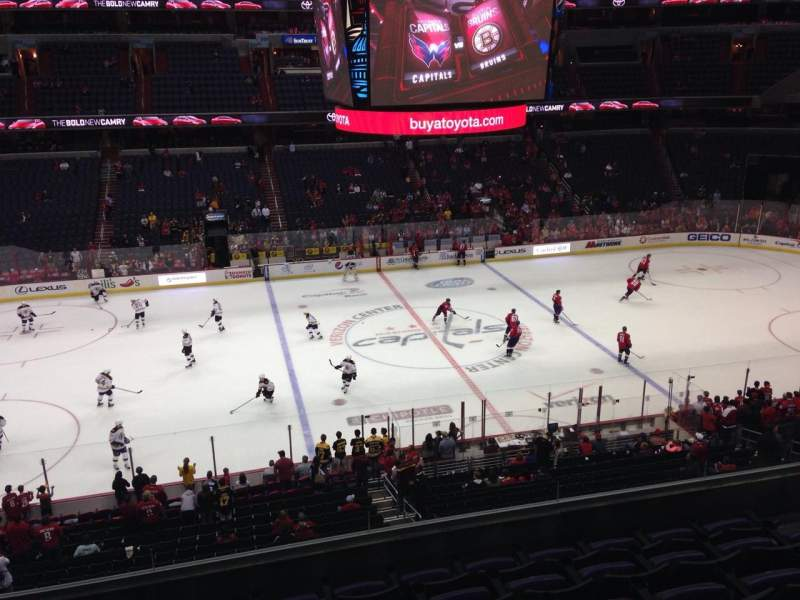 Seating view for Capital One Arena Section 214 Row G Seat 8