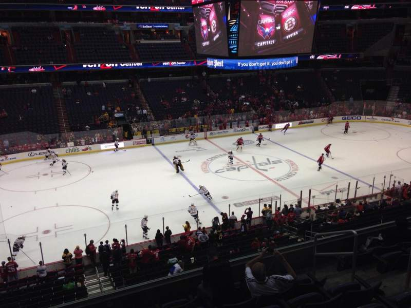 Seating view for Capital One Arena Section 213 Row G Seat 8