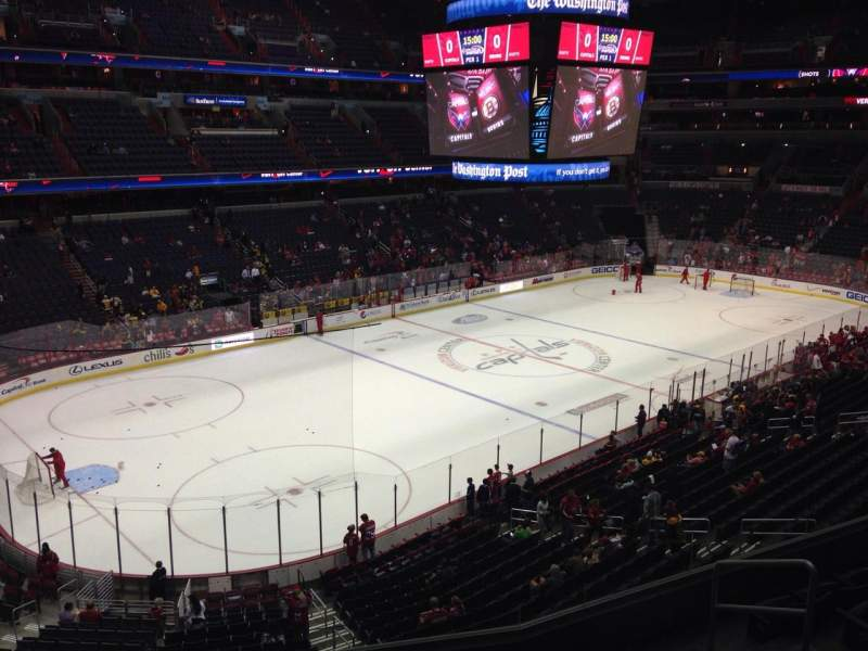 Seating view for Capital One Arena Section 211 Row G Seat 6