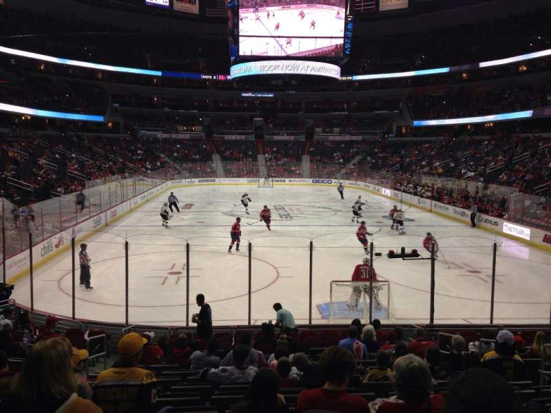 Seating view for Verizon Center Section 116 Row P Seat 7