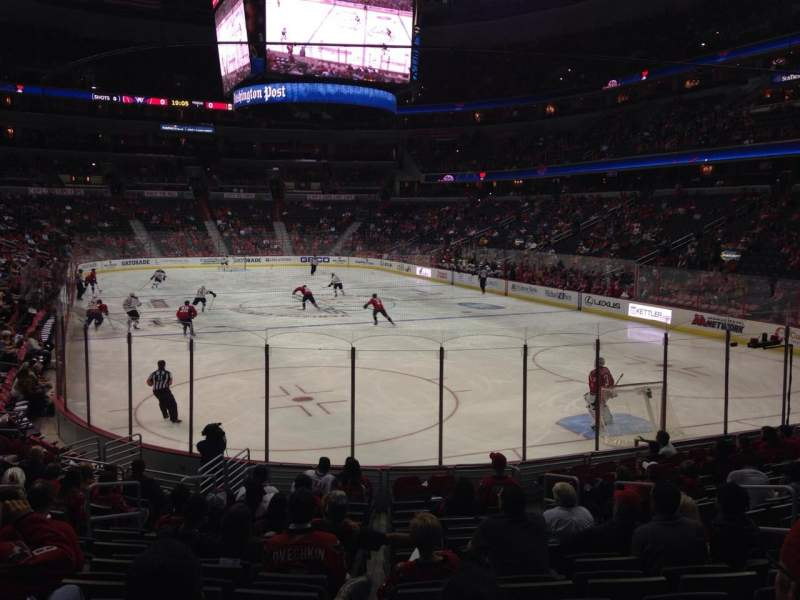 Seating view for Verizon Center Section 115 Row P Seat 12