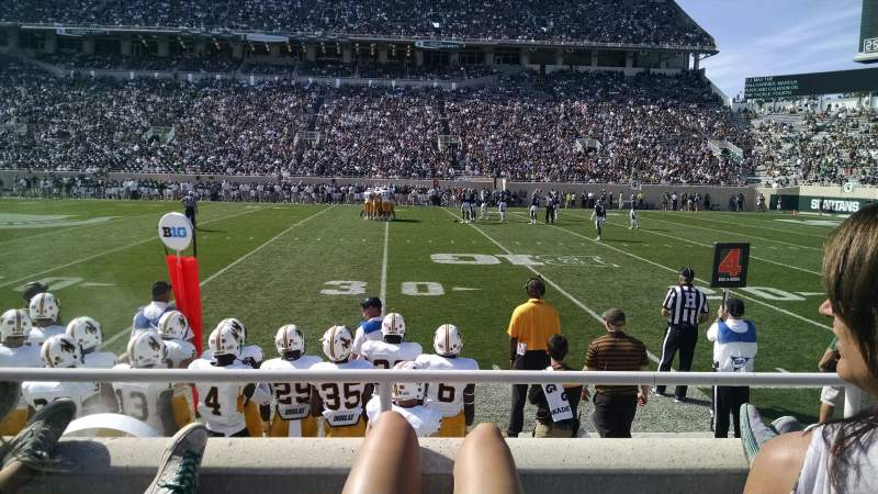 Seating view for Spartan Stadium Section k Row 5 Seat 30