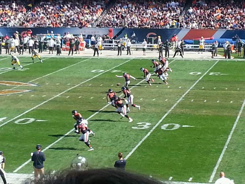 Seating view for Soldier Field Section 234 Row 2 Seat 18