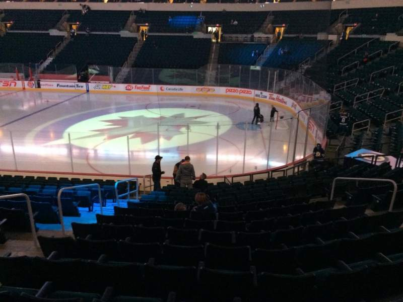 Seating view for MTS Centre Section 103 Row 15 Seat 23