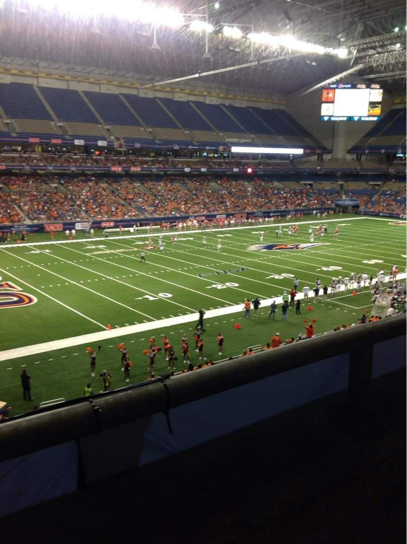 Seating view for Alamodome Section 217 Row 1 Seat 15