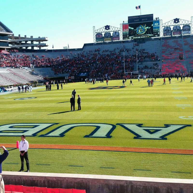 Seating view for Jordan-Hare Stadium Section 42 Row 15 Seat 22