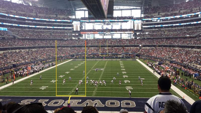 Seating view for AT&T Stadium Section 247 Row 6 Seat 2