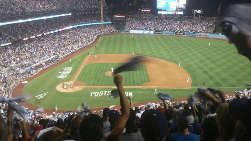 Dodger Stadium, section: 10RS, row: U, seat: 20
