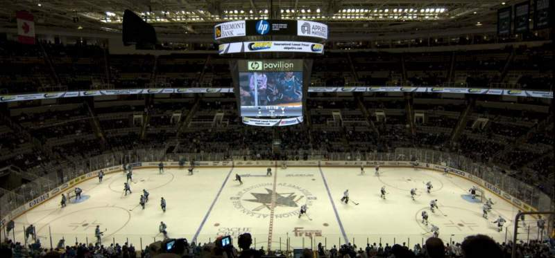 Seating view for SAP Center at San Jose Section 215 Row 7 Seat 10