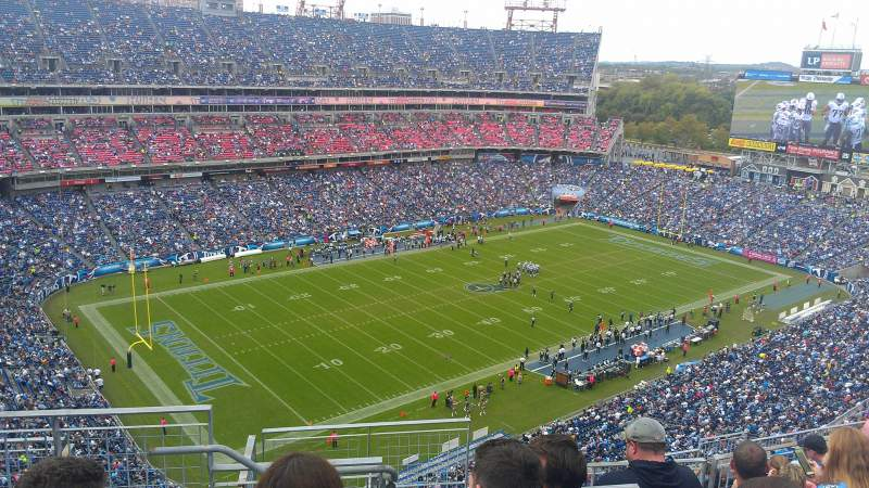 Seating view for Nissan Stadium Section 321 Row P Seat 20